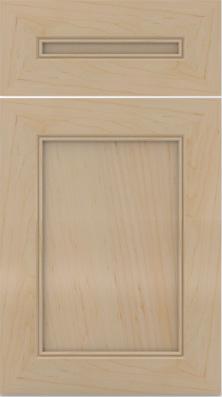 """Solid Wood Doors Preston 1 (2 7/8"""")"""